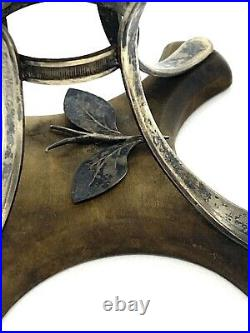 Antique Scottish Sterling Silver Ritual Basket