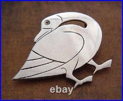 Antique Silver Scottish Thistle Hatpin Birmingham 1909 Faux Amethyst Giftbox