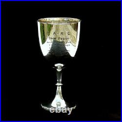 Antique Solid STERLING SILVER Sports Trophy CLYDESDALE Scottish ROWING Club 1909