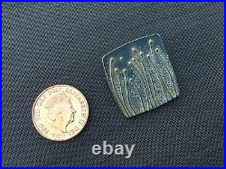 Birthday Silver Jewellery Pendant Brooch Flower Seed Scottish Square Ola Gorie