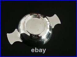 Cased SCOTTISH Sterling Silver Quaich, EDINBURGH 2015, Francis Howard Ltd
