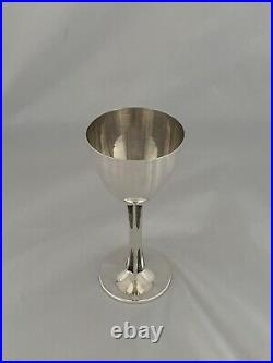 Heavy SCOTTISH Solid Silver GOBLET or WINE CUP 1977 Edinburgh Sterling Silver