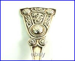 Iona Caddy Spoon Sterling Scottish Silver Arts & Crafts Alexander Ritchie 1921