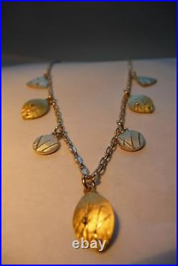 Norman Grant Silver Pendant Chain 1982 Boxed Scottish
