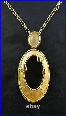 Ola Gorie 925 Silver May Queen Brooch Margaret MacDonald Mackintosh Scottish
