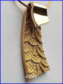 Ola Gorie Mixed Metal Silver & 9ct Yellow Gold Mistral Charm Bracelet Scottish