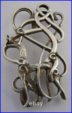 Ola Gorie Silver Rona Celtic Pendant 18 Chain Boxed Scottish