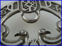 Ola Gorie Silver Rousay Brooch Pin 1970s Zoomorphic Viking Scottish