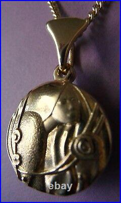 Ola Gorie Silver Urnes Brooch Pin Scottish Boxed 1988