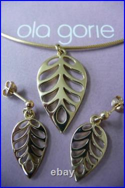 Ola Gorie Sterling Silver 925 Kimono Necklace Purple Green Scottish