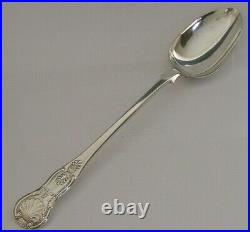 RARE SCOTTISH VICTORIAN SOLID STERLING SILVER BASTING SPOON 1868 ANTIQUE 105g
