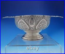 Robert Sawers Scottish Sterling Silver Child's Bowl Footed Cast Handles (#3912)