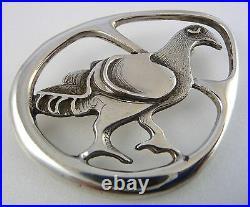 Scottish 1975 Silver Burrian Eagle Brooch Ola Gorie Viking