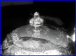 Scottish Antique Sterling Silver Bullet Teapot, William Marshall 1804
