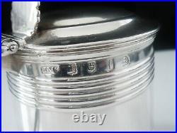 Scottish Antique Sterling Silver Mustard Pot, Edinburgh 1817, James Mckay