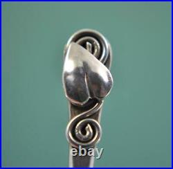Scottish Arts & Crafts Sterling Silver spoons Norah Creswick Edinburgh 1943
