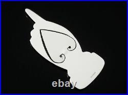 Scottish Novelty Sterling Silver Bookmark, Dart Silver Ltd, Hallmarked Edinburgh