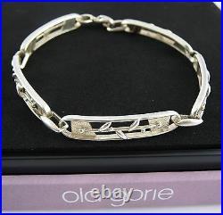 Scottish Ola Gorie 925 Silver Jasmine Bracelet