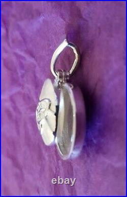 Scottish Ola Gorie Silver Celtic Secrets Locket 18 Chain