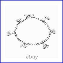 Scottish Ola Gorie Silver Faray Bracelet Celtic Boxed