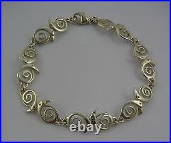 Scottish Ola Gorie Sterling Silver 925 North Star Bracelet Box