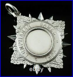 Scottish Provincial Sterling Silver Medal, William Robb Kincardine O'Neil