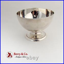 Scottish Round Footed Bowl Hamilton Inches Sterling Silver 1877 Edinburgh