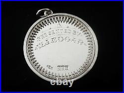 Scottish Sterling Silver Medal, Best Groomed Pair of Horses, Glasgow 1904