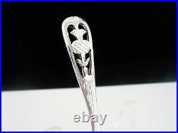 Scottish Thistle Design Sterling Silver Caddy Spoon, Dart Silver Ltd