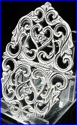 Solid Silver Nurses Belt Buckle, Sterling, NEW, Scottish Hallmarked, GIFT, Boxed